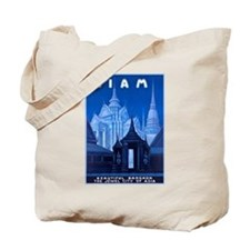 Siam Travel Poster 1 Tote Bag