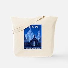 Siam Travel Poster 1 Tote Bag