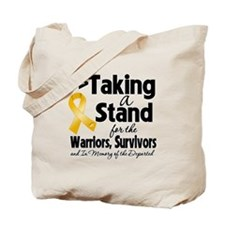 Stand Appendix Cancer Tote Bag