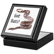Snake Boa Got Rats Keepsake Box
