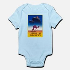 Palestine Travel Poster 2 Infant Bodysuit