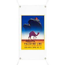 Palestine Travel Poster 2 Banner