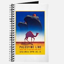 Palestine Travel Poster 2 Journal