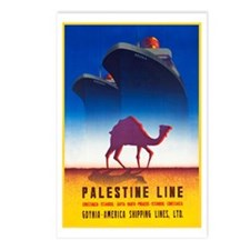 Palestine Travel Poster 2 Postcards (Package of 8)