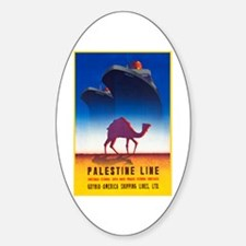 Palestine Travel Poster 2 Decal