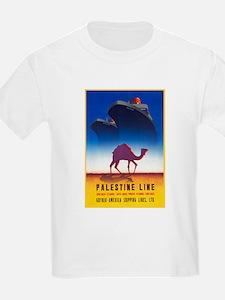 Palestine Travel Poster 2 T-Shirt