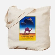 Palestine Travel Poster 2 Tote Bag