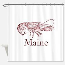 Maine Lobster Shower Curtain