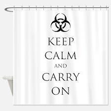 Biohazard/2012 Shower Curtain