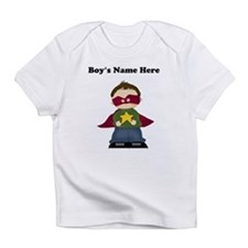 Personalized Super Hero Boy Infant T-Shirt