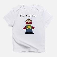 Personalized Super Hero Boy Infant T-Shirt