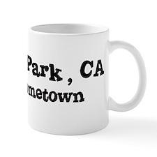 Maxwell Park - hometown Mug