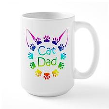 """""""Cat Dad"""" Mug"""