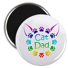 """""""Cat Dad"""" Magnet"""