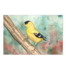 Gold Finch Postcards (Package of 8)