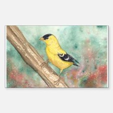 Gold Finch Decal