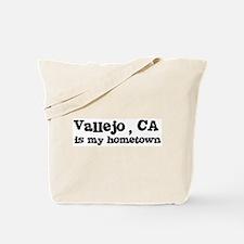 Vallejo - hometown Tote Bag