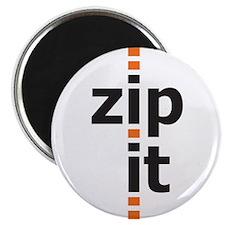 """Zip It 2.25"""" Magnet (10 pack)"""