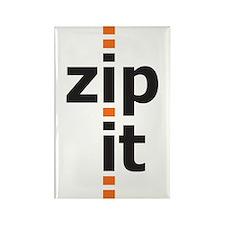 zip it rectangle magnet (10 pack)