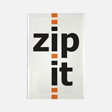 zip it rectangle magnet (10 pack)
