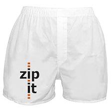 Zip It Boxer Shorts