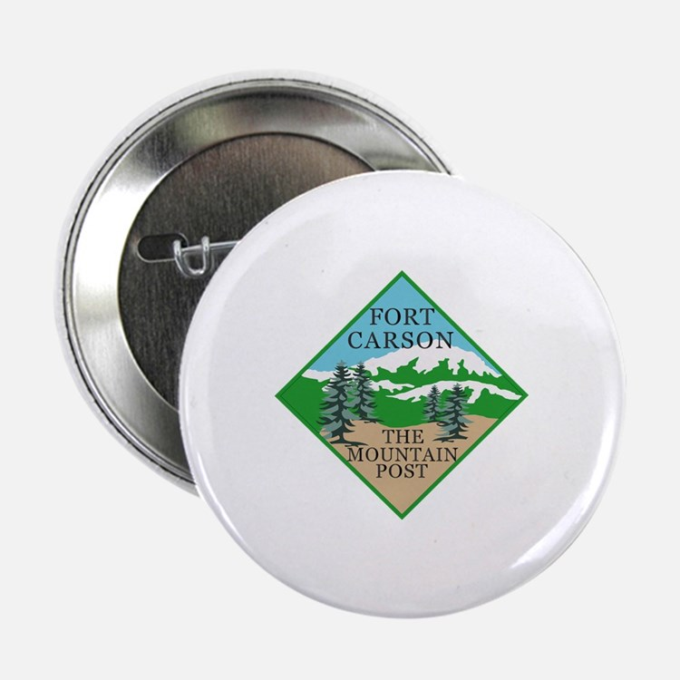 """Fort Carson 2.25"""" Button (10 pack)"""