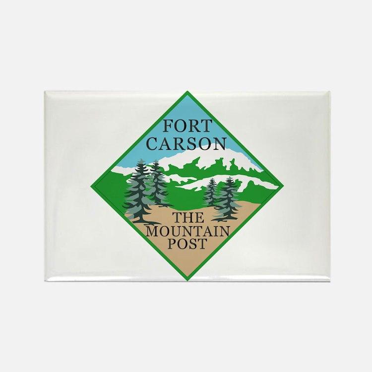 Fort Carson Rectangle Magnet