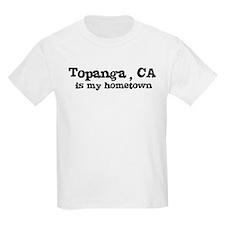 Topanga - hometown Kids T-Shirt