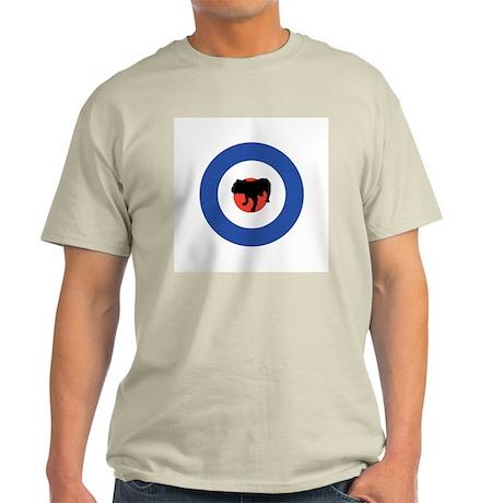 The Mod Ash Grey T-Shirt