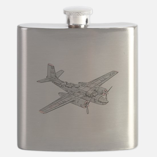 Douglas B-26 Invader -Colored.png Flask