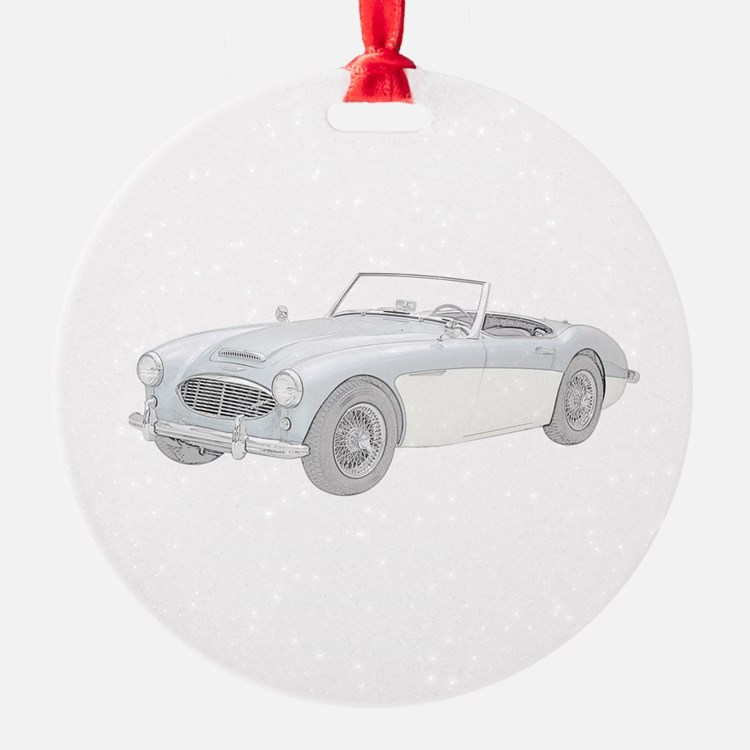Cute British car Ornament