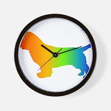 Sussex Spaniel Wall Clock