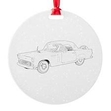Ford Thunderbird 1956 Ornament