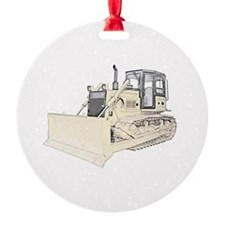 Bulldozer in color.png Ornament