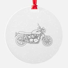 Cute Motor cycle Ornament