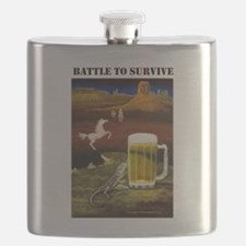 Battle to Survive Flask