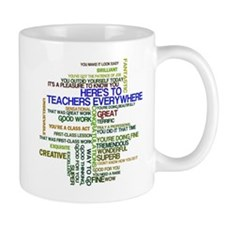 Great Teachers Word Art Mug