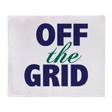 Off the Grid Throw Blanket