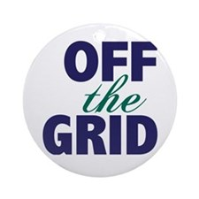 Off the Grid Ornament (Round)
