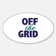Off the Grid Decal