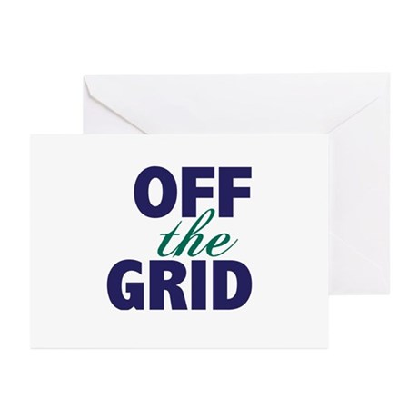 Off the Grid Greeting Cards (Pk of 20)
