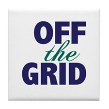 Off the Grid Tile Coaster