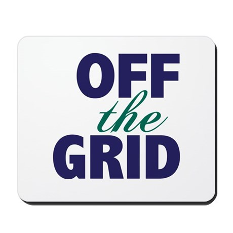 Off the Grid Mousepad