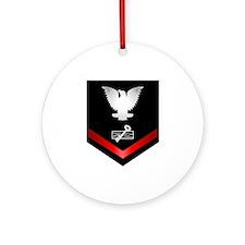 Navy PO3 Disbursing Clerk Ornament (Round)