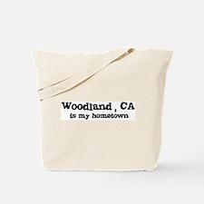 Woodland - hometown Tote Bag