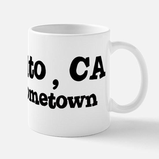 Palo Alto - hometown Mug