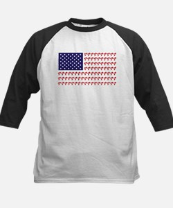 Patriotic BMX Bike Rider/USA Tee
