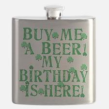 Buy Me a Beer Irish Birthday Flask