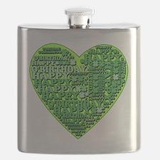 St Patricks Happy O'Birthday Flask