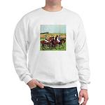 DEGAS' HORSES Sweatshirt